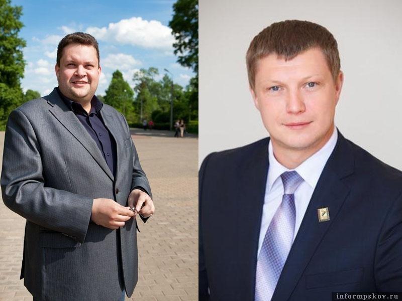 На фото: (слева направо) Василий Краснов и Игорь Романов