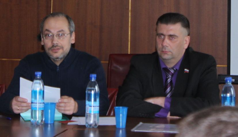 На фото: (слева направо) Денис Терехов и Игорь Иванов