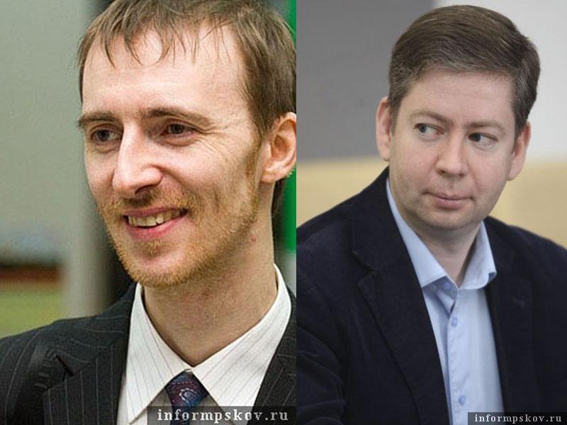 На фото: (слева направо) Юрий Колесников и Александр Машкарин