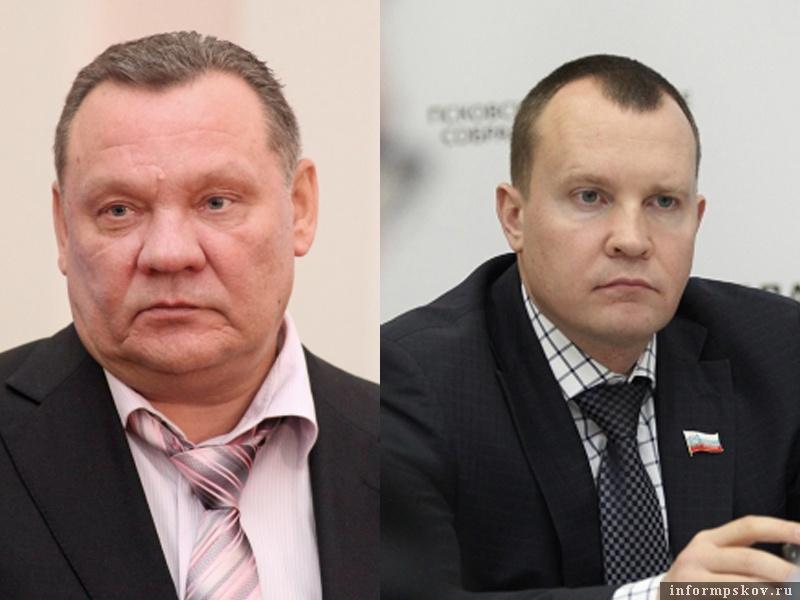 На фото: (слева направо) Владимир Панченко и Олег Брячак