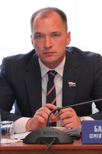 На фото: Сергей Барабанов
