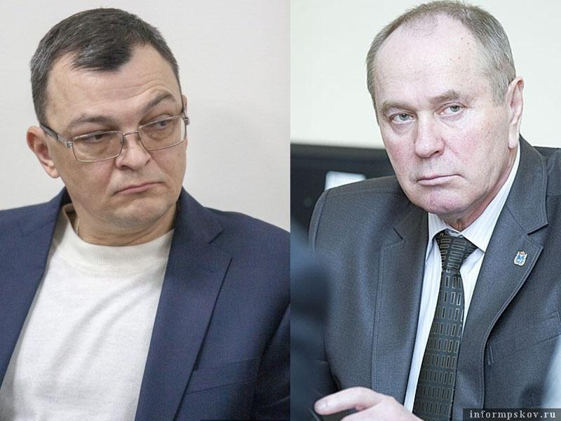На фото: (слева направо) Павел Тельнов и Валерий Яковлев