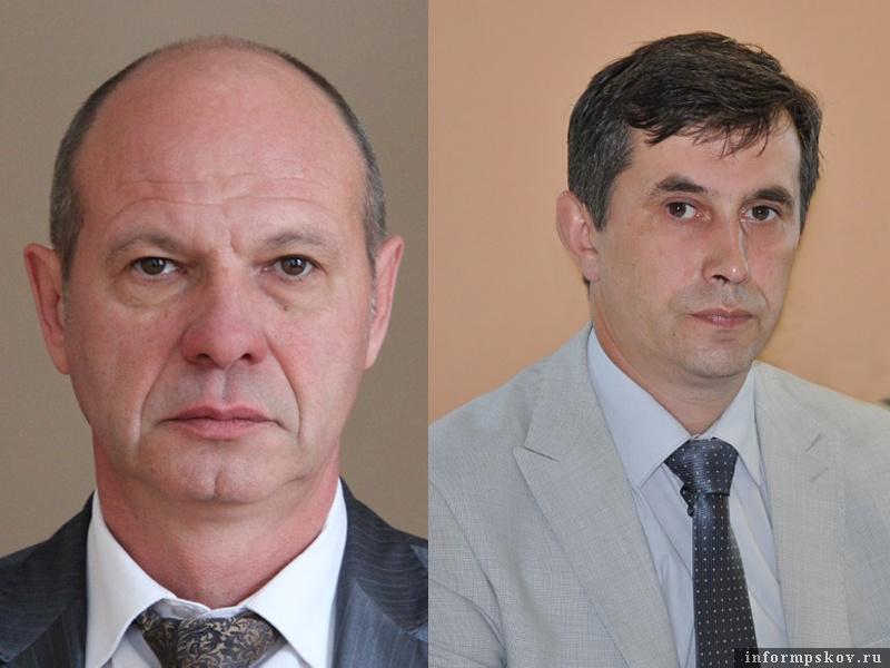 На фото: (слева направо) Игорь Чевжик и Виктор Каменский