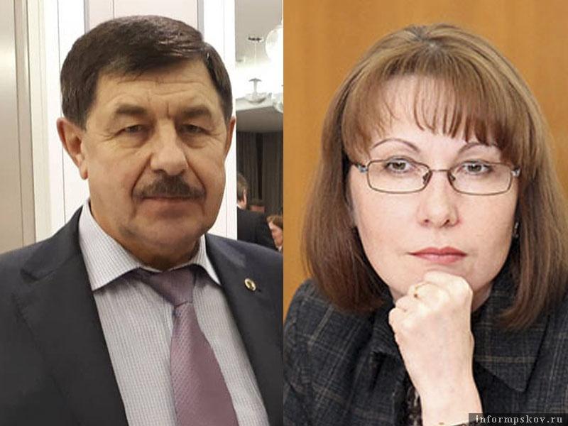 На фото: Владимир Шураев и Оксана Иванова