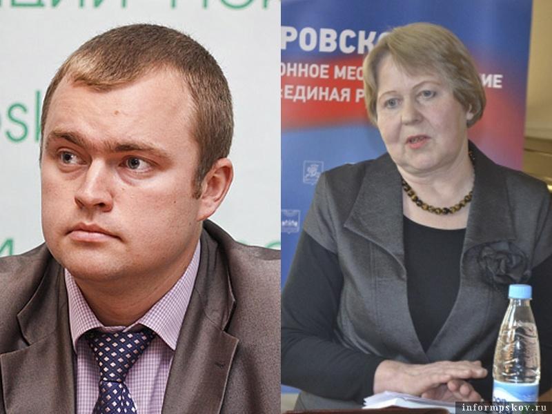 На фото: Дмитрий Быстров и Людмила Шершнёва