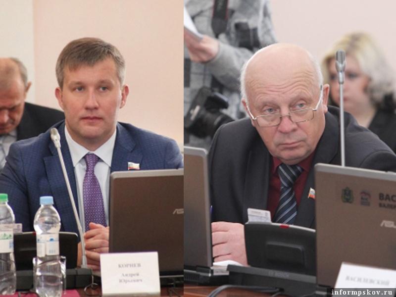 На фото: (слева направо) Андрей Корнев и Александр Василевский