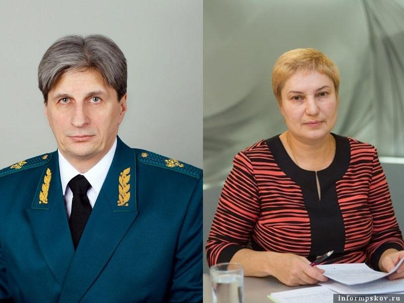 На фото: Виктор Мусатов и Наталья Вдовина