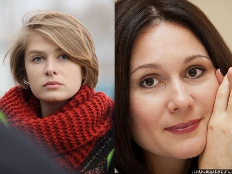 На фото: (слева направо) Дарья Яковлева и Оксана Ширан