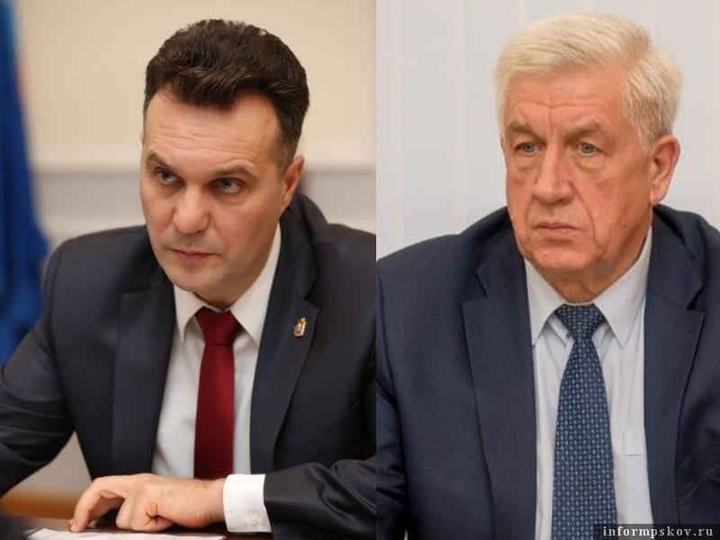 На фото: (слева направо) Николай Цветков и Михаил Иванов
