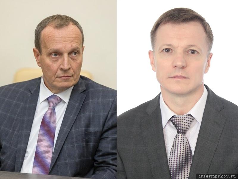 На фото: (слева направо) Николай Околеснов и Николай Филипчик
