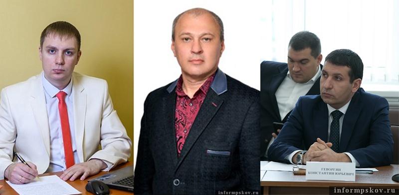На фото: (слева направо) Дмитрий Богданов, Борис Смирнов, Константин Геворгян
