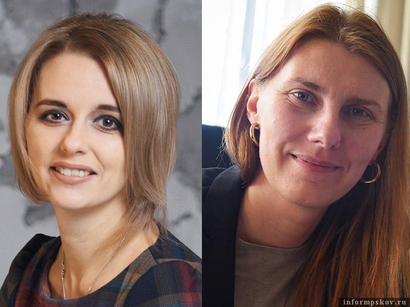 На фото: (слева направо) Екатерина Татаринова и Анна Насыбулина