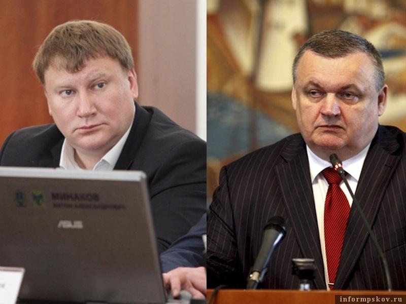 На фото: (слева направо) Александр Братчиков и Игорь Калашников
