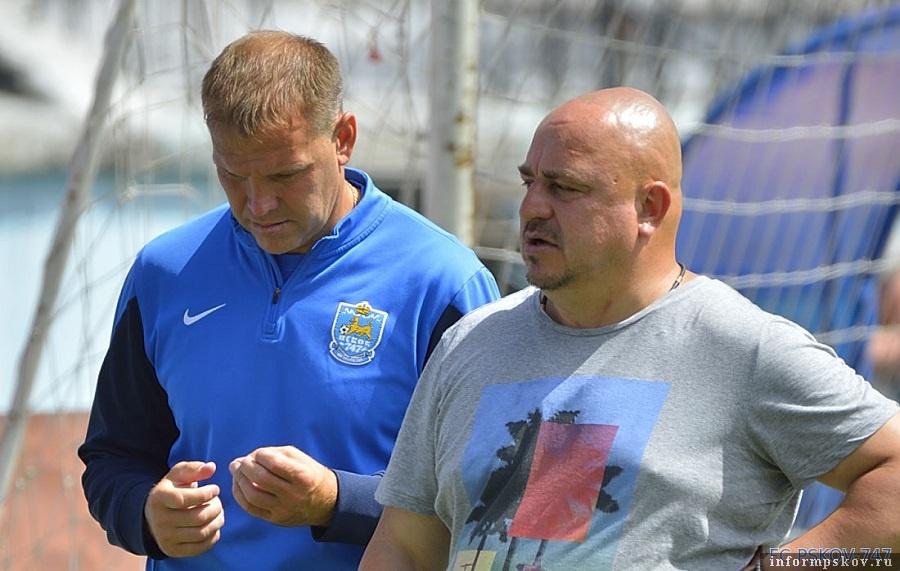 На фото: Алексей Севастьянов (справа)