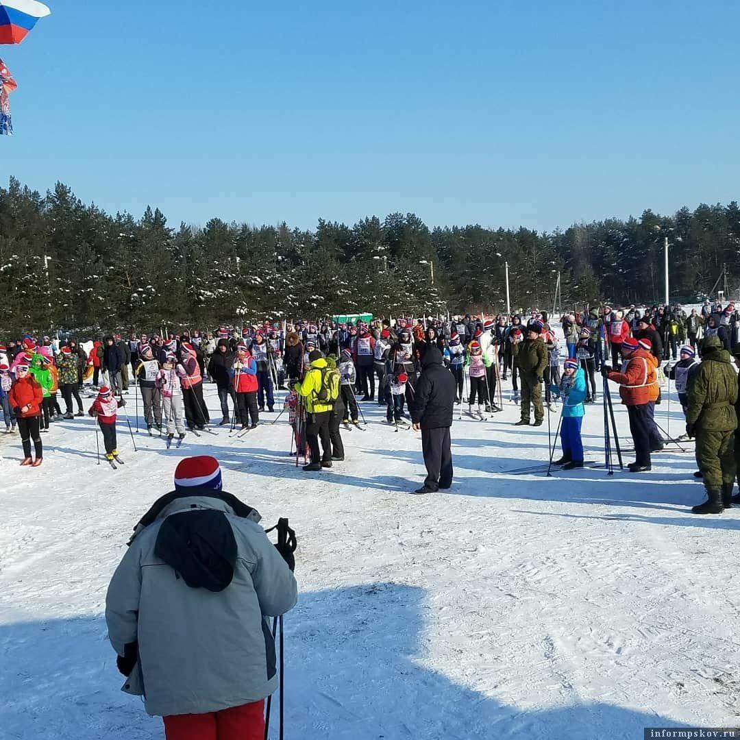 «Лыжня России» в Псковской области.