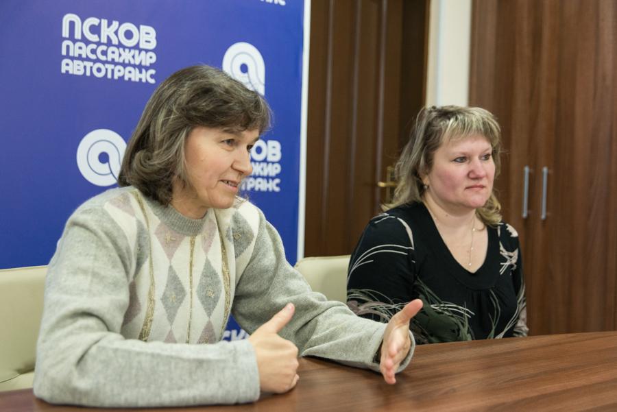 Елена Зенина и Наталья Журавлёва