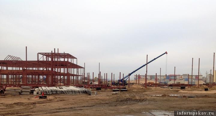 Ход строительства на 8 апреля