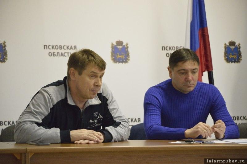 Александр Гаврилов и Андрей Аленичев