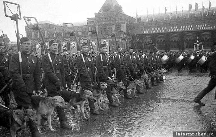 Парад Победы, 1945 год. Фото с сайта one4u.ru