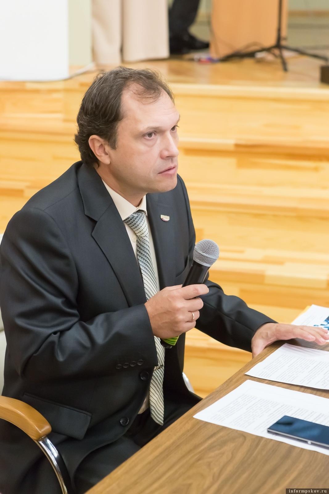 Михаил Донченко. Фото с сайта Инжинирингового центра Псковской области