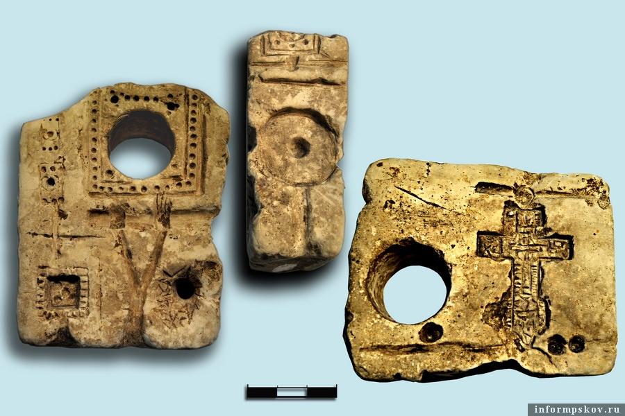 Многофункциональная литейная форма. Фото предоставлено Псковским археологическим центром