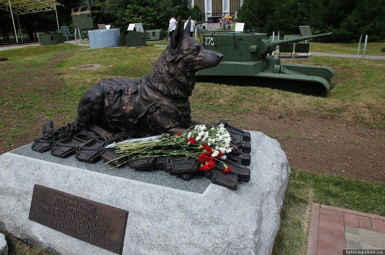 Памятник фронтовой собаке в Москве. Фото с сайта lj-top.ru