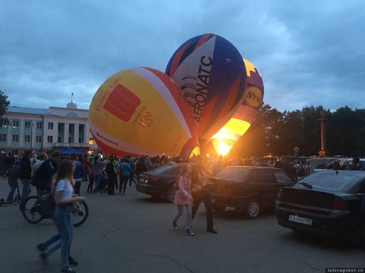 23-я Международная встреча воздухоплавателей в Великих Луках.