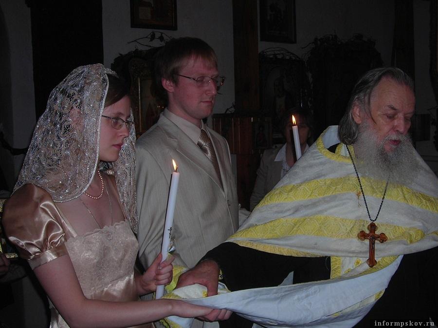 Венчание в церкви Жен-Мироносиц