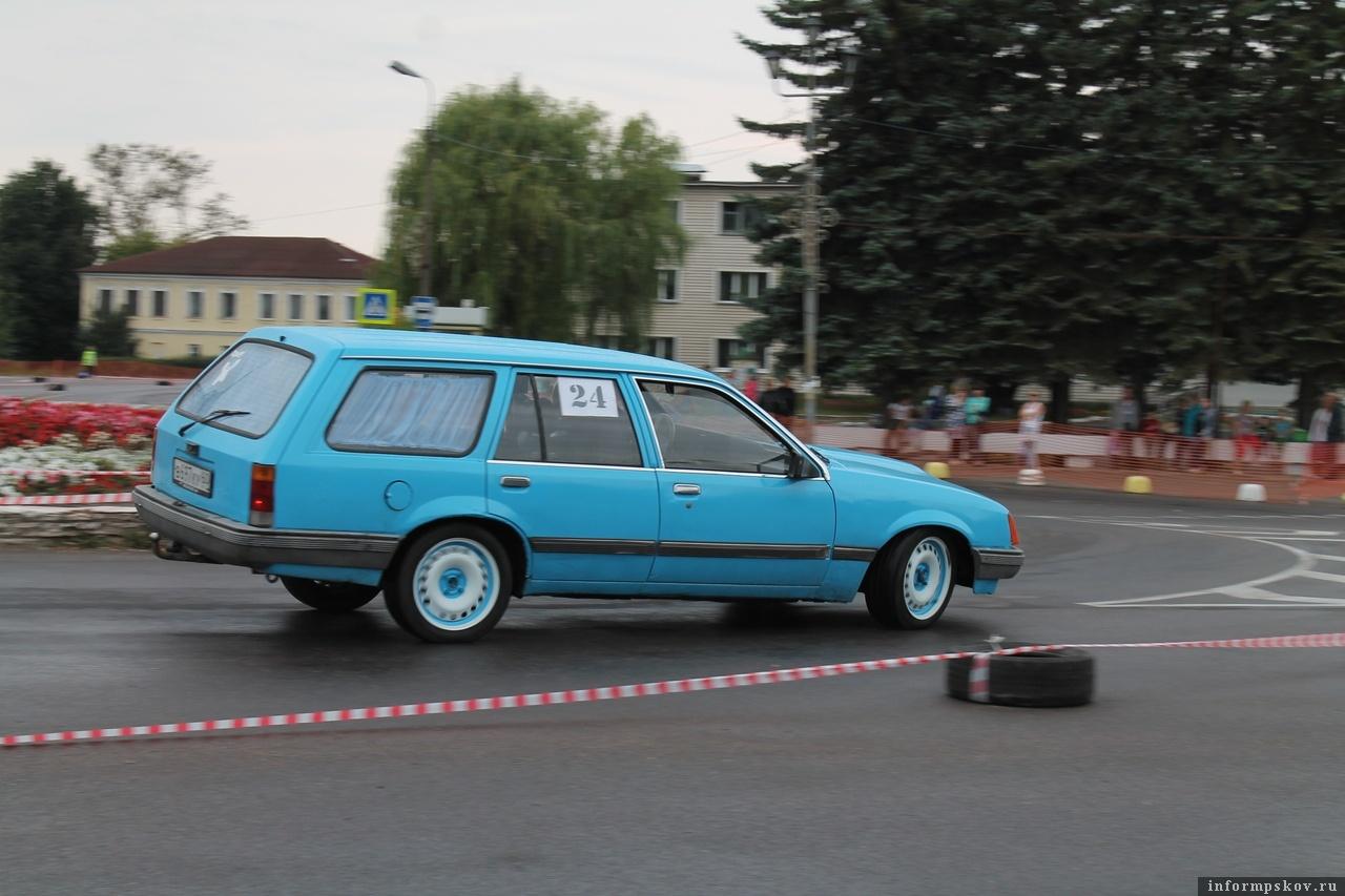 7-й этап Чемпионата и Первенства Псковской области по автомобильному многоборью «Остров - 2018».