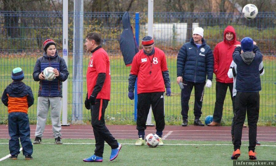 Фото: Лига дворового футбола Псковской области