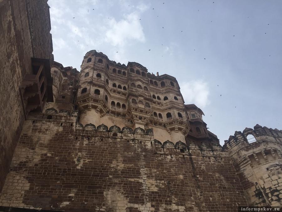Форт Мехрангарх в Джодхпуре