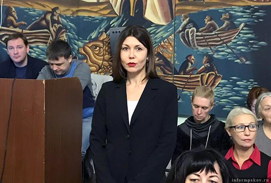 Наталья Симонова возглавила контрольное управления администрации Пскова