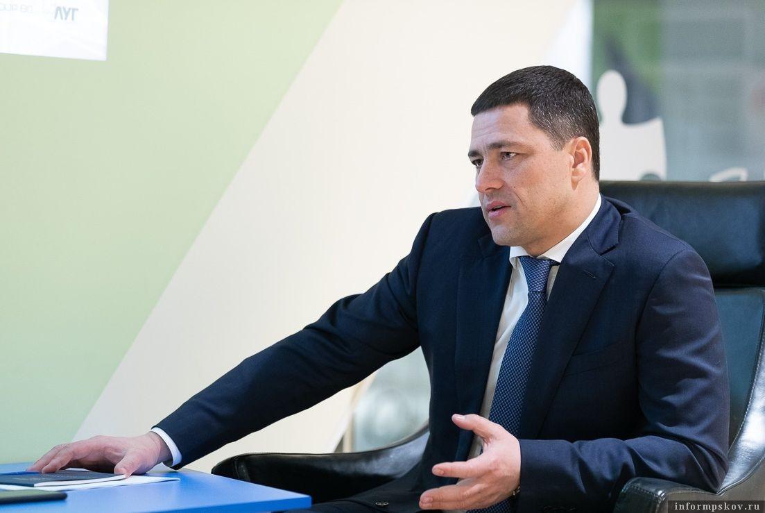 Михаил Ведерников. Фото пресс-службы администрации Псковской области