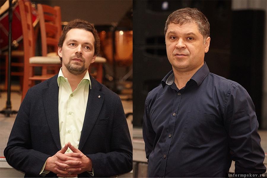 На фото: (слева направо) Николай Хондзинский и Эдуард Банько