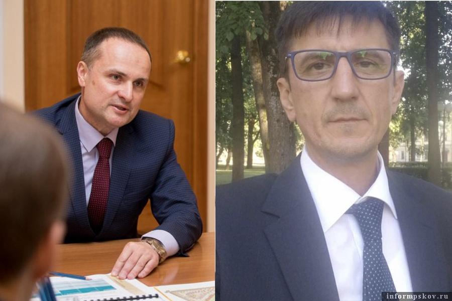 На фото: (слева направо) Дмитрий Спивак и Владислав Абрамов