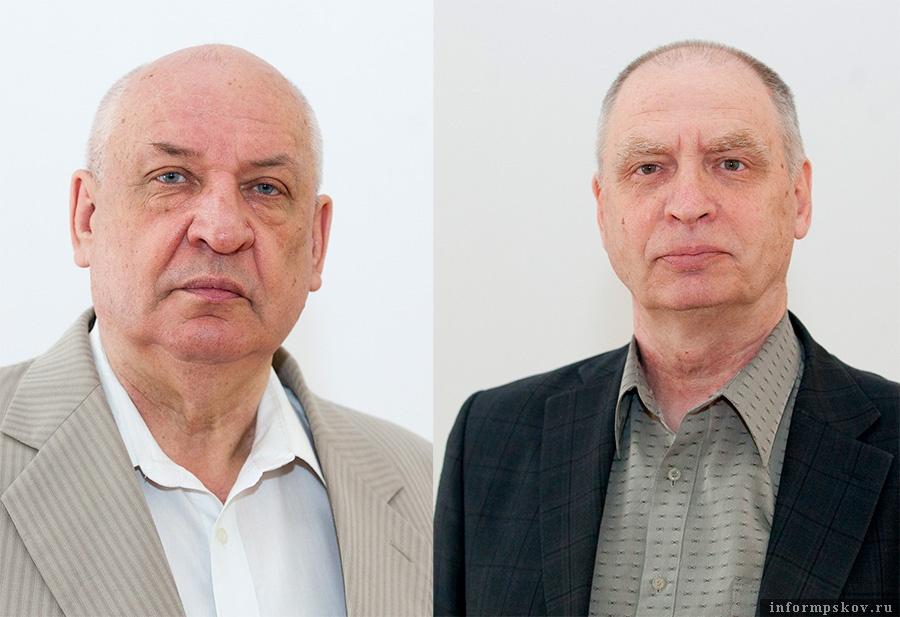 На фото: (слева направо) Валерий Павлов и Анатолий Мультах