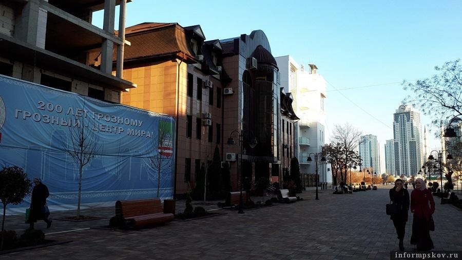 Пешеходная улица Махмуда Эсамбаева