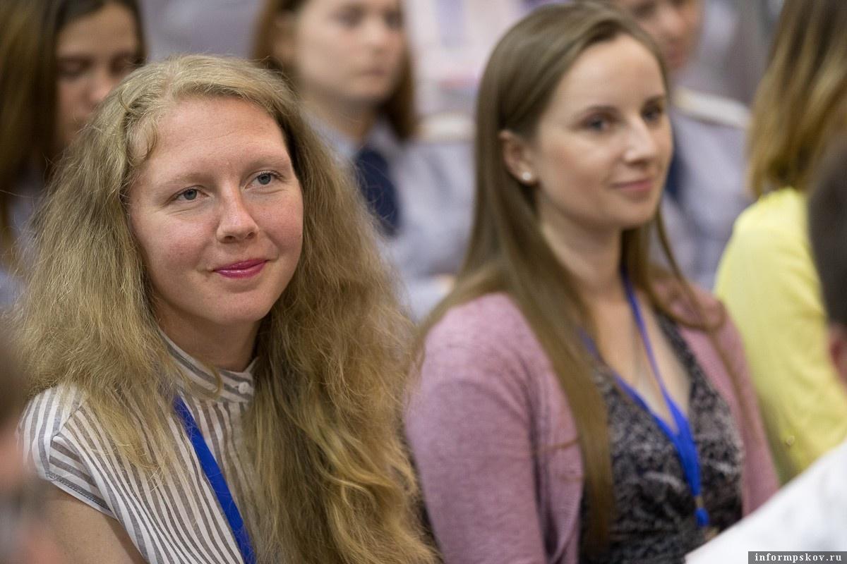Олеся Назарой. Фото - Псковский городской молодежный центр