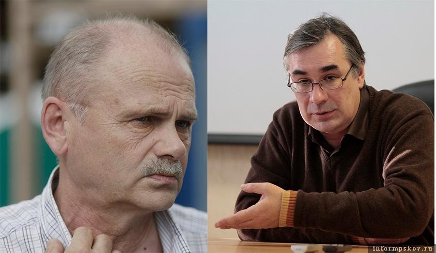 На фото: (слева направо) Сергей Сарченков и Юрий Киселёв