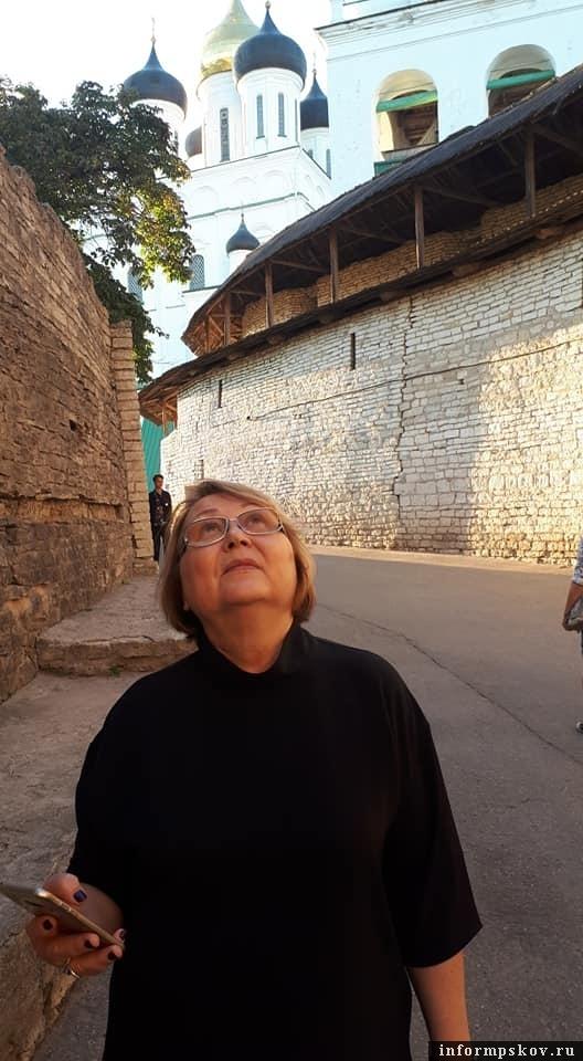 На фото: Людмила Цишковская