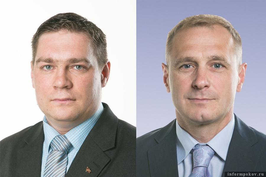 На фото: (слева направо) Дмитрий Михайлов и Александр Баев