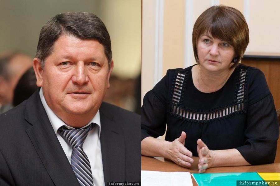 На фото: Владимир Лавренов и Наталья Фёдорова