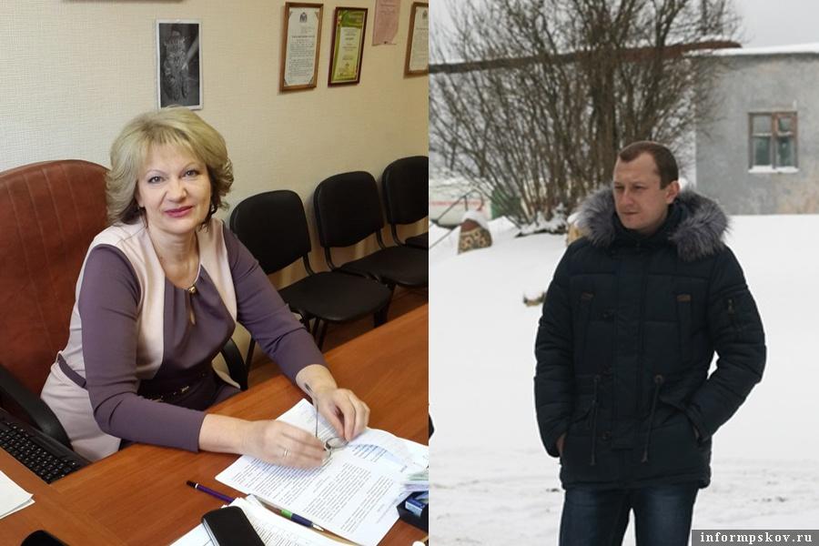 На фото: Марина Мусаева и Сергей Хмелёв