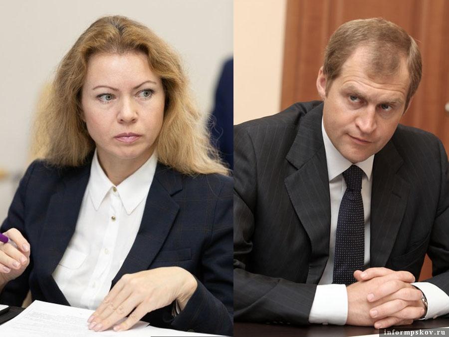 На фото: Нинель Салагаева и Сергей Перников
