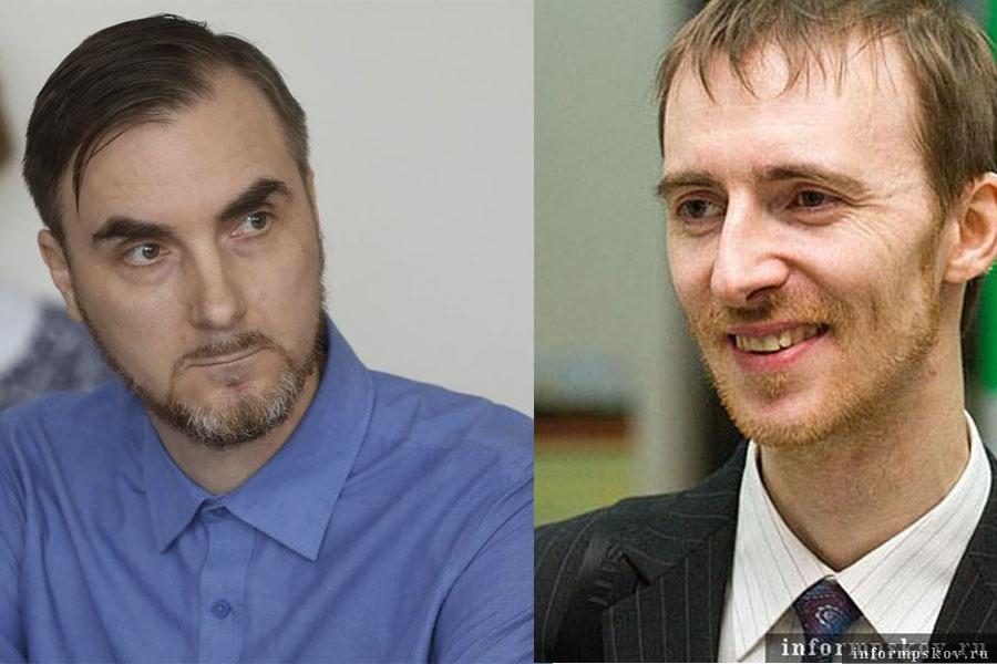 На фото: (слева направо) Олег Добрынин и Юрий Колесников