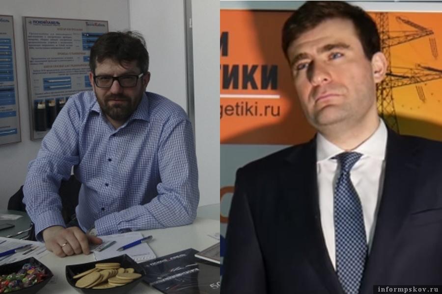 На фото: (слева направо) Дмитрий Яблочкин и Кантемир Машуков