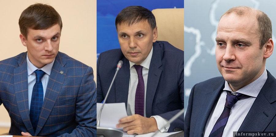 На фото: (слева направо) Сергей Дмитриев, Денис Гуляев, Максим Жаворонков