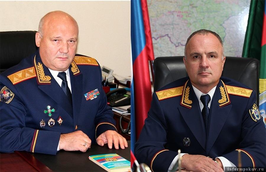 На фото: (слева направо) Пётр Крупеня и Олег Тушмалов