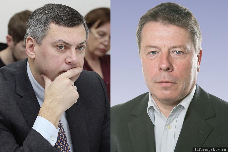 На фото: (слева направо) Василий Салопов и Сергей Фёдоров
