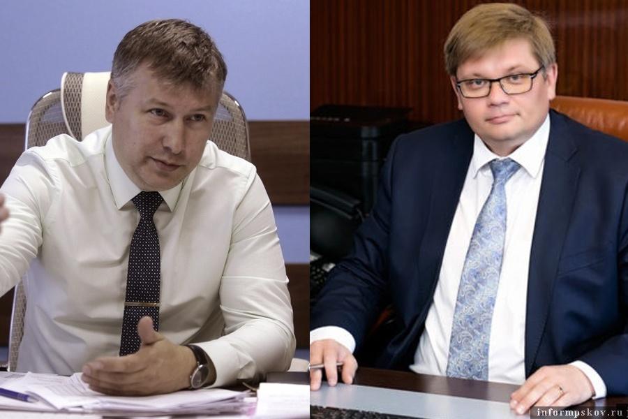 На фото: (слева направо) Николай Киянец и Александр Питиримов